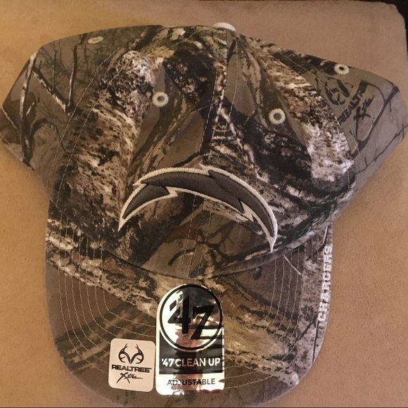 '47 Other - San Diego Chargers adjustable camo hat